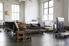 Loft in the heart Apartment Interior01 of New York City