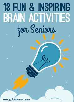 Our brains, just like our bodies need exercise! Neurobics is a type of exercise designed to stimulate the brain and enhance cognitive performance. Here are 13 simple and stimulating mind activities for seniors in nursing homes.