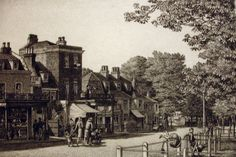 Dulwich Village Dulwich South East London England in 1906