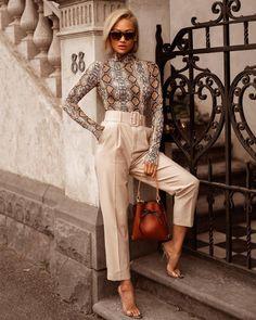 Leopard Bodysuit 254 - Mode Frauen 60 - Leopard Bodysuit Source by seydakr - Classy Outfits, Chic Outfits, Fashion Outfits, Womens Fashion, Fashion Tips, Fashion Trends, Ladies Fashion, Fashion Ideas, Fashion 2017