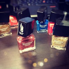 Lacquer party @ butter LONDON HQ! #nails #nailpolish #edenbyedednsassoon