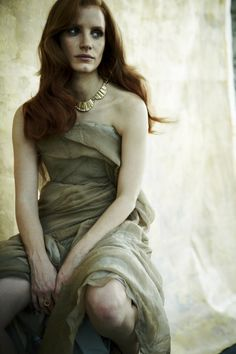 Jessica Chastain for In Style