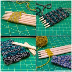 Review: Clover Weaving Sticks | The Zen of Making