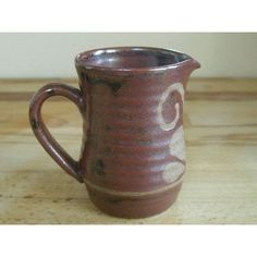 Isle Of Wight Bembridge Studio Pottery Wax Resist Cream Jug Listing in the Studio/Handcrafted Pottery,Pottery,Porcelain, Pottery & Glass Category on eBid United Kingdom | 152355844