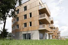 "Gallery of WGTG - Residential building ""Den Draad"" / HUB - 1"