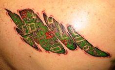 biomechanical tattoos 42