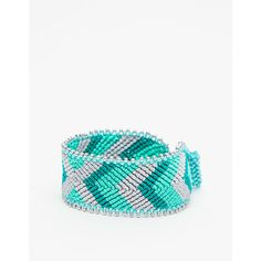 Arrow Friendship Bracelet (25 BRL) ❤ liked on Polyvore featuring jewelry, bracelets, rust, tri color jewelry, friendship bracelet, colorful jewelry, tri color bangles and chevron jewelry