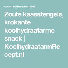 Zoute kaasstengels, krokante koolhydraatarme snack | KoolhydraatarmRecept.nl