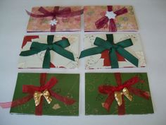 Christmas Gift Card Holders by SuperCraftyLady on Etsy, $10.00