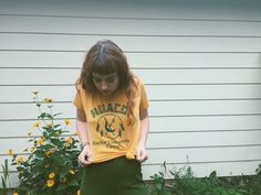 Vintage Huaco Baylor University Camp tee