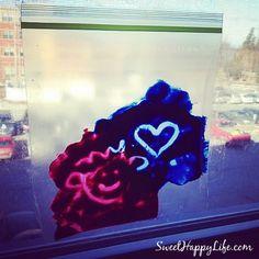 Sunny Window Paint Play - Indoor Toddler Activities