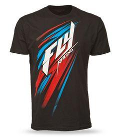 Fly Racing Splendor Motocross Off Road Dirt Bike Mens Short Sleeve Tee Sport Shirt Design, Tee Design, Best T Shirt Designs, Tee Shirt Designs, Sports Shirts, Tee Shirts, Tees, Fox Racing Clothing, Motocross
