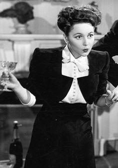 Olivia de Havilland in Government Girl 1943
