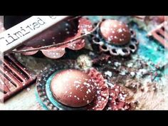 Limited edition - mixed media canvas by Kasia Bogatko - YouTube