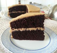 Super Moist Chocolate Fudge Cake With 'Inside of a Peanut Butter Cup' Frosting | the dutch baker