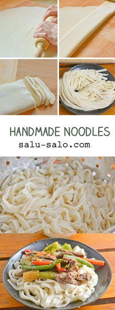 Handmade Noodles More