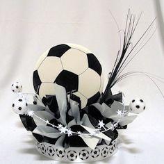 Soccer Have a Ball Centerpiece