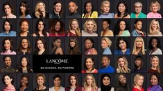 """Lancome's Recent """"My Shade, My Power"""" Beauty Campaign features 47 Diverse"""