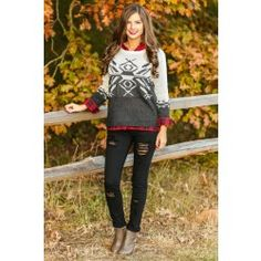 You Are My Snowflake Sweater - $38.00