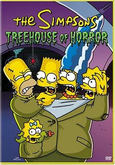 The Simpsons:  Treehouse of Horror. Late 80s, early 90s. I still remember the first episode airing, and the ones with Marge coming out on stage to tell us it was too scary for young chlldren. Being 8 or 9 myself, this made me wanna watch it more.