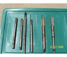 Reams American Made Old Hard Core Bits. from 1960's is a Hand Tools for Sale in Tipp City OH