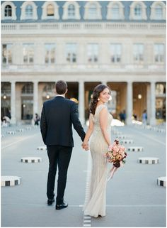 Paris wedding inspiration | Image by Sophie Epton Photography