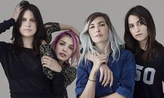 Edgy, bolshy and notoriously prickly to interview, Warpaint like to live up to their name. Eve Barlow slips behind the attitude to talk feminism, politics and falling out with Beyoncé