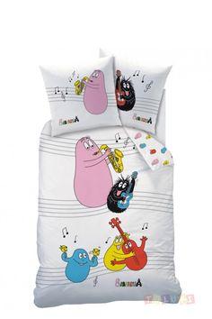 Parure de lit Barbapapa en musique !  http://www.toluki.com/prod.php?id=577 #Toluki #enfant