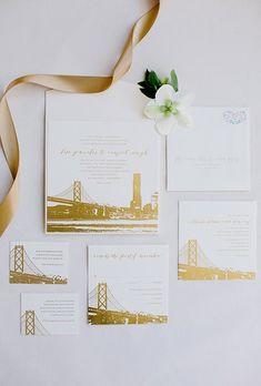 San francisco wedding invitation invited for cheryl pinterest san francisco wedding favors destination wedding stationery and invitation designs brides stopboris Choice Image