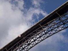 A view from below on Bridge Day