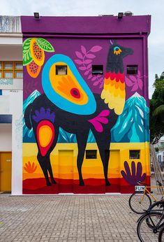 68 Ideas Wall Painting Graffiti House For 2019 Murals Street Art, Graffiti Murals, Street Art Graffiti, Street Wall Art, Best Street Art, Graffiti Artists, Graffiti Lettering, Urbane Kunst, Illustrator