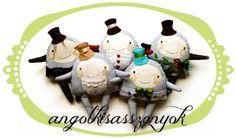 British Ladies Manka My Works, Victorian, Textiles, Dolls, Christmas Ornaments, Holiday Decor, How To Make, British, Home Decor