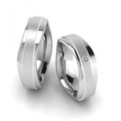 Partnerringe geteiltes herz schwarz  Freundschaftsringe Silber mit geteilter Herz Gravur Silverrings ...