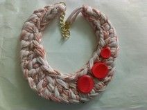 Collana uncinetto / Crochet necklace
