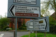 Hilarious road signs: Keep this on the Q-T, yeah …in Essex (UK) Photo by Neil Rickards
