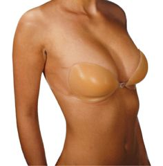 Gather-the-Girl by Pure Style Girlfriends available online! adhesive backless strapless silicone shaping bra with clear side wings for extra support. Perfect item to wear with for your Wedding Dress, Prom Dress, Summer Dresses, open back dresses or tops