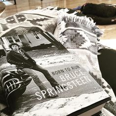 My day. Springsteen and a snoring dog.