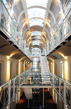 Oxford Malmaison Hotel, Ex Oxford Castle Prison, England Designed By Dixon  Jones Architects And Jestico + Whiles Architects