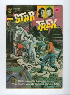 1973 Vintage Star Trek Comic Number 21 November Gold Key
