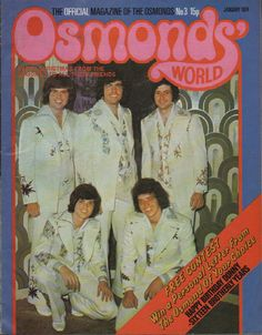 Osmonds' World Magazine Issue No 3 January 1974 The Osmonds | eBay