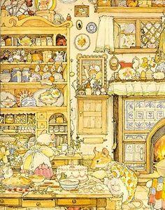 Jill Barklem va néixer a Epping, Anglaterra, el 1951. És dibuixant, il·lustrador i escriptor de contes. Després de patir un accident qua...