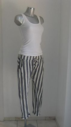 COTTON ORNAMENTE HOSE JOGPANTS GÜRTEL KNÖCHELLANG von secret