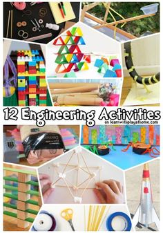 12 Engineering Activities for Kids! Some fun and frugal way for kids to work on engineering skills in the classroom or at home! #engineeringforkids #STEMforkids