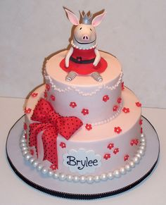 Ansley would LOVE this Olivia the Pig cake for her next birthday!!