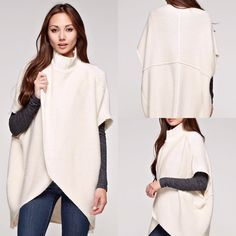 Ashley Funnel Neck Sweater - DM ClothesAddict
