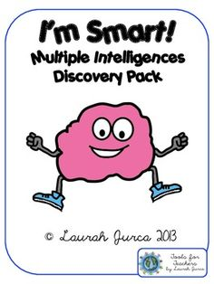 I'm Smart!: Multiple Intelligences Discovery Activity $4.00