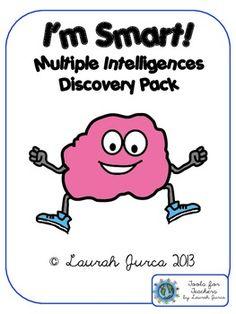I'm Smart!: Multiple Intelligences Discovery Activity $4.00