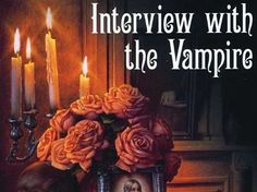 Interview with the Vampire by Anne Rice. My first vampire novel! I Love Books, Great Books, Books To Read, My Books, Reading Books, Vampire Stories, Vampire Books, Anne Rice Books, Lestat And Louis