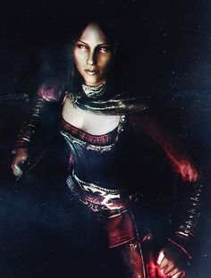 Serana. She is totally my favourite companion to have with me.