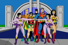Super Friends and Wonder Twins Friend Cartoon, Cartoon Tv, Cartoon Characters, Wonder Twins, Saturday Morning Cartoons, Classic Cartoons, 1970s Cartoons, Old Tv, Classic Tv